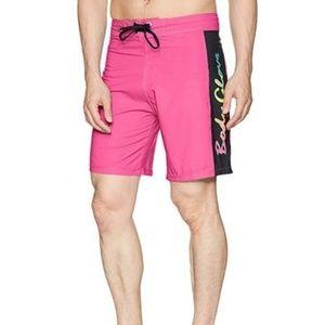 Body Glove Vapor Lazer Zapp Boardshorts Pink Sz 30